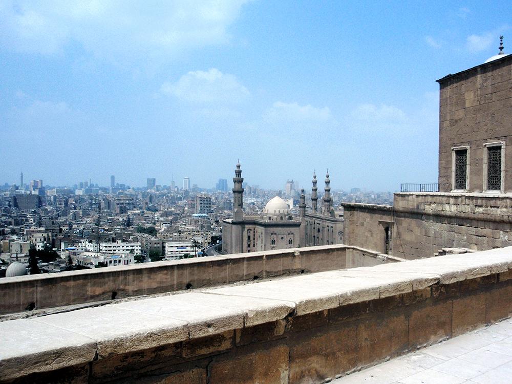 モハメッド・アリ・モスクからの眺め